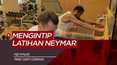 Berita Video Mengintip Latihan Bintang PSG, Neymar di Brasil
