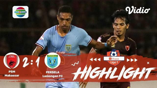 Berita video highlights Shopee Liga 1 2019 antara PSM Makassar melawan Persela Lamongan yang berakhir dengan skor 2-1, Minggu (1/9/2019).