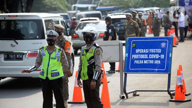 Polisi Tindak 9,2 Juta Pelanggar Protokol Covid-19 Selama 44 Hari Operasi Yustisi