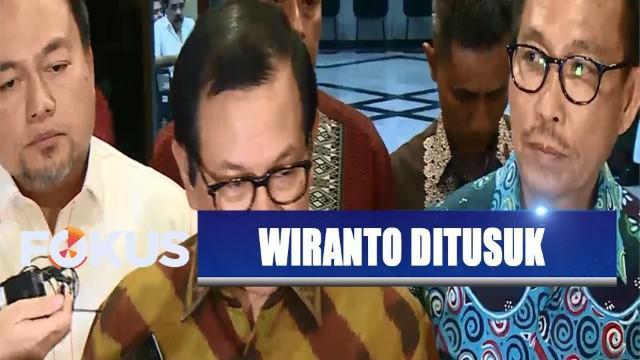 Rekan kerja Wiranto sesama menteri Kabinet Indonesia Kerja yang kemarin menjenguknya menyatakan, kondisi kesehatan Wiranto mulai stabil dan membaik setelah tiga jam menjalani operasi.