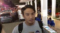 Perenang asal Indonesia, Gagarin Nathaniel Yus, mengaku tidak punya persiapan khusus untuk menghadapi Asian Games 2018. (Bola.com/Budi Prasetyo Harsono)