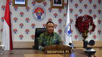 Menteri Pemuda dan Olahraga Republik Indonesia (Menpora RI) Zainudin Amali mendorong penumbuhan minat kewirausahaan pemuda di Mandalika, Lombok Tengah, Nusa Tenggara Barat (NTB).