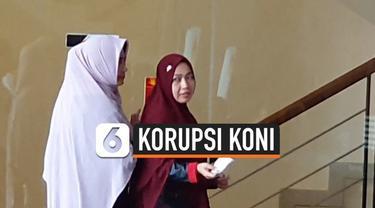Istri eks Imam Nahrawi, Shobibah dipanggil KPK sebagai saksi terkait kasus hibah dana KONI di Kemenpora. Kasus yang sama turut menyeret suaminya hingga ditangkap KPK.