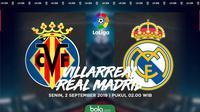 La Liga Villarreal Vs Real Madrid (Bola.com/Adreanus Titus)