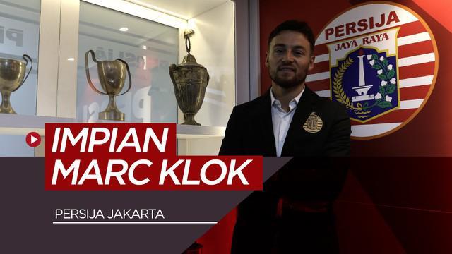Berita video impian Marc Klok bersama Persija yang menjadi kenyataan.