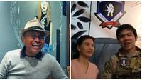 Dahlan Iskan, Veronica Tan, dan Nicholas Sean (dok. Instagram @bearhounds_airsoftcafe/https://www.instagram.com/p/BulnrlQhBWN/https://www.instagram.com/p/Bu5-yV8hCDd/Putu Elmira)