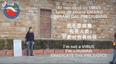 Pria China-Italia Unggah Video Perangi Rasis Terkait Virus Corona