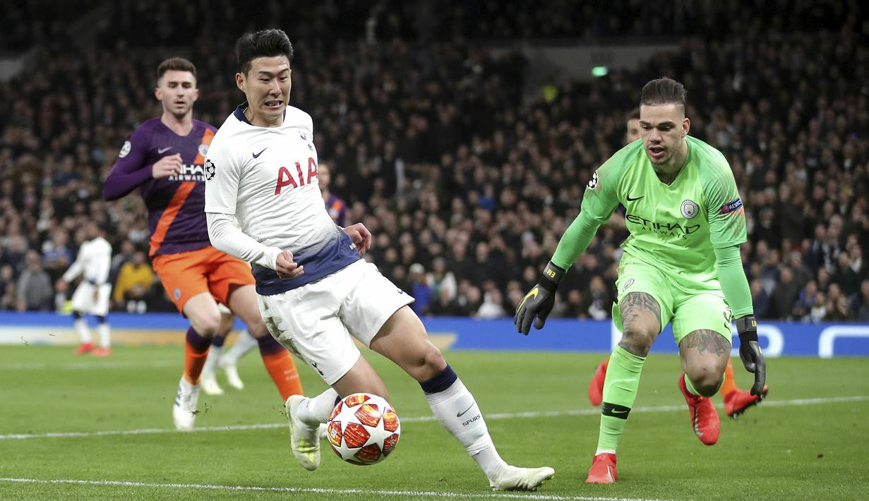 FOTO Son Heung Min Bawa Tottenham Hotspur Tekuk Manchester