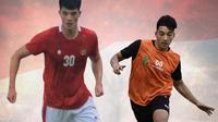 Timnas Indonesia - Elkan Baggott dan Jack Brown (Bola.com/Adreanus Titus)