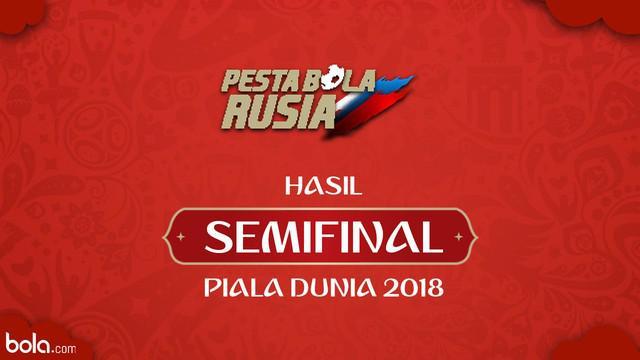 Berita video hasil semifinal Piala Dunia Rusia 2018. Kroasia menang damatis melawan Inggris.
