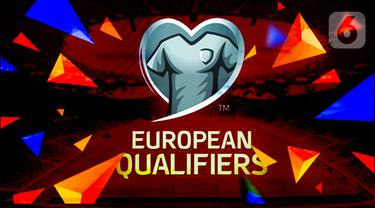 logo ilustrasi banner kualifikasi piala eropa