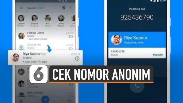 Truecaller adalah aplikasi untuk menunjukkan nama pengguna yang menelepon. Sekali pun kontak belum tersimpan.