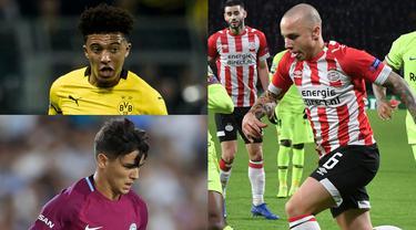 Man City dikenal memiliki akademi pemain muda terbaik di Inggris. Namun pemain muda Man City begitu kesulitan menembus skuat tim utama. Alhasil banyak dari mereka dipinjam bahkan dijual oleh Pep Guardiola. (Kolase Foto AFP)