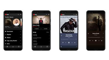 Ilustrasi YouTube Music. Kredit: Google