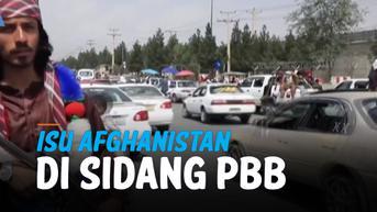 VIDEO: Afghanistan dalam Sorotan Sidang Majelis Umum PBB