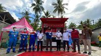 PT Pertamina (Persero) resmi meluncurkan Pertashop pertama di Pulau Sulawesi atau perdana di wilayah operasi Marketing Operation Region (MOR) VII. (Dok Pertamina)