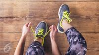 Ilustrasi Sepatu Lari (iStockphoto)