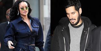 Rihanna dikabarkan telah menyudahi hubungannya dengan Hassan Jammeel. (HollywoodLife)