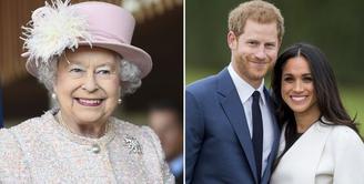 Ratu Elizabeth II sepertinya masih belum selesai memanjakan cucunya, Pangeran Harry dan Meghan Markle usai keduanya menikah. (Getty Images/Harper's Bazaar)
