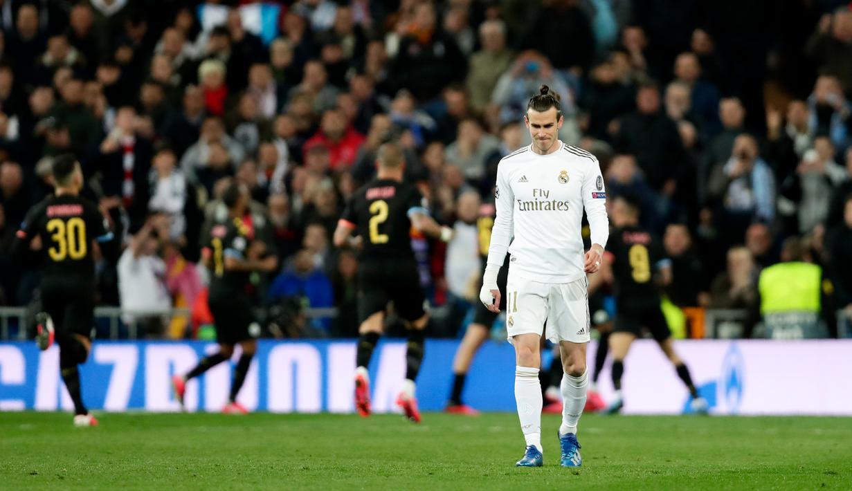 FOTO Manchester City Tekuk Real Madrid Di Santiago Bernabeu