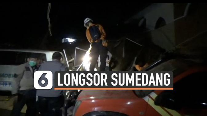 VIDEO: Musibah Longsor di Sumedang, Sedikitnya 11 Warga ...