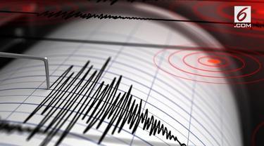 Gempa magnitudo 5,4 menggoyang Sukabumi, Jawa Barat. Gempa tidak menimbulkan potensi tsunami, namun terasa hingga Jakarta.