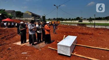 Lahan Baru Pemakaman COVID-19 di Tangerang Selatan