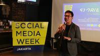 Antonny Liem, Chairman SMW 2019 Jakarta dan CEO PT Merah Cipta Media. Liputan6.com/Keenan Pasha