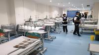 Klinik Kesehatan Haji Indonesia (KKHI) di Madinah. Denny/MCH