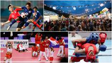 Berikut ini kumpulan momen menarik perhelatan akbar Asian Games sepanjang hari Sabtu 1 September 2018. (Foto-foto Bola.com dan AP)