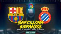 La Liga - Barcelona Vs Espanyol (Bola.com/Adreanus Titus)