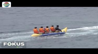 Pulau Nusa Penida menyimpan banyak keseruan untuk bertualang. Para petualang bisa menikmati sederetan keindahan alam laut.