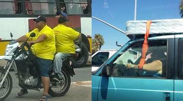 7 Kelakuan Nyeleneh Pengemudi saat Bawa Kendaraan Ini Bikin Gagal Paham