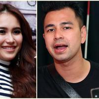 Ting Ting dan Raffi Ahmad. (Deki Prayoga/Bintang.com)