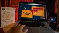Guna mendukung ekosistem streaming Maxstream, Telkomsel menggelar Maxscript Class dan Award 2020 yang merupakan ajang pelatihan sekaligus kompetisi penulisan skenario. (Foto: Telkomsel).