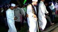 Walikota Bengkulu Helmi HAsan mengeluarkan Surat Edaran untuk membuka Mesjid selama 24 jam setiap hari. (Liputan6.com/Yuliardi Hardjo)
