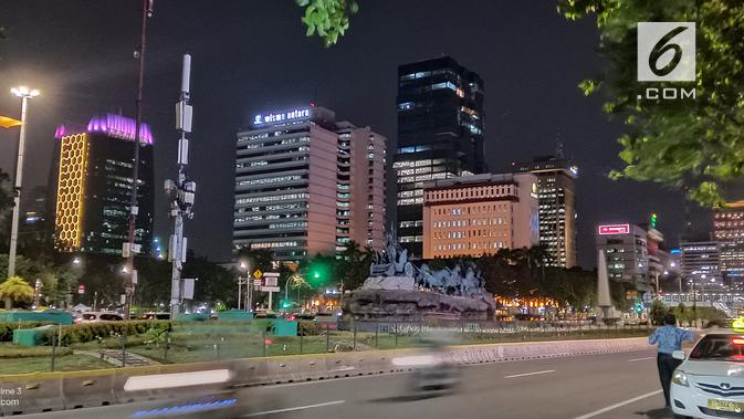 Hasil foto Realme 3 di malam hari dengan Nightscape mode (Liputan6.com/ Agustin Setyo W)