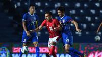 Pelatih Timnas Indonesia, Shin Tae-yong, tak sepenuhnya puas dengan kemenanga 2-1 yang diraih atas Chinese Taipei pada laga leg 1 Play Off Piala Asia 2023. (dok. AFC)