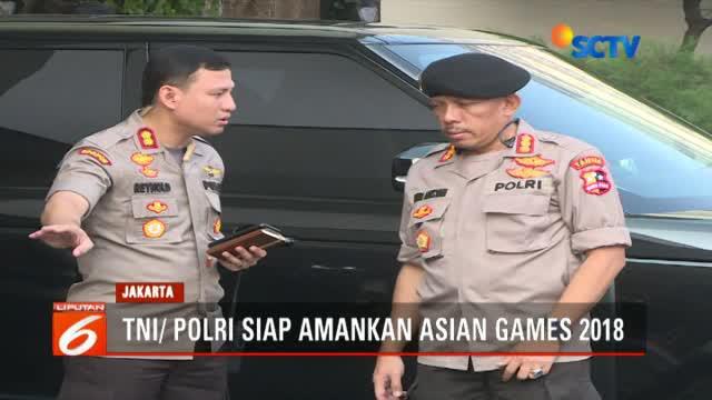 Selain Kapolri Jenderal Tito Karnavian, rakor juga dihadiri Panglima TNI Marsekal Hadi Tjahjanto.