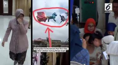 Video Hit kali ini hadir dari berita Tri Rismaharini sujud di depan takmir masjid, pemunculan kereta Nyi Roro Kidul, dan kisah sedih ibunda korban bom Surabaya.