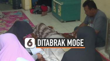 Kecelakaan maut terjadi di jalan Pajajaran Bogor hari Minggu (15/12). Seorang nenek dan cucunya tertabrak motor gede saat menyeberang jalan, nyawa sang nenek tak tertolong.