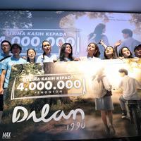 Syukuran film Dilan (Adrian Putra/bintang.com)