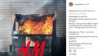 H&M, brand fashion asal Swedia tengah bergelut dengan kasus hukum perihal penggunaan graffiti tanpa izin dalam iklannya. Ini cerita lengkapnya. (Foto: instagram @rogergastman)