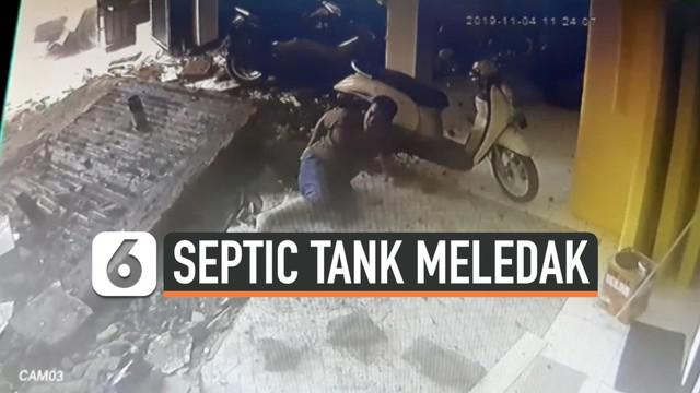 Guru Besar Fakultas Teknik Universitas Indonesia, Firdaus Ali mengungkap penyebab insiden septic tank meledak di Cakung Jakarta Timur hari Selasa (5/11).