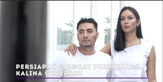 Kalina Oktarani dan Muhammad Hendrayanto menceritakan persiapan singkat pernikahan mereka.