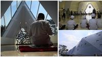 Masjid Al Safar di Tol Cipularang KM 88 yang di desain Ridwan Kamil (dok. Instagram @ridwankamil/https://www.instagram.com/p/BUQ2sQvj-Xi/Fairuz Fidlzah)