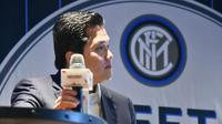 Erick Thohir, Inter Milan's Indonesian owner said he hoped to bring the team to Asia next year as he tries to lift the club from financial mayhem and become a top-10 team. AFP PHOTO / Bay ISMOYO