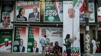 Suasana kampanye pemilu presiden Nigeria (AFP Photo)