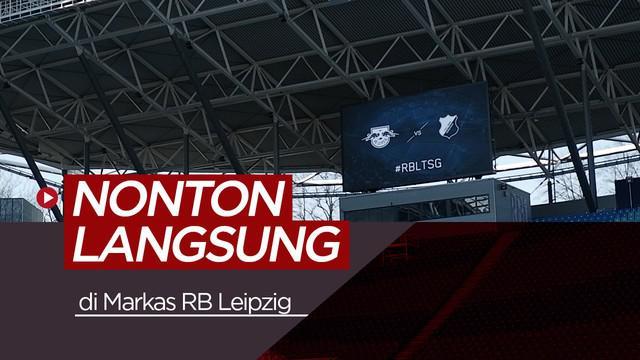 Berita video vlog kali ini laporan langsung jurnalis Bola.net, Asad Arifin, langsung dari Jerman yang berkesempatan datang dan menyaksikan langsung pertandingan di markas RB Leipzig.