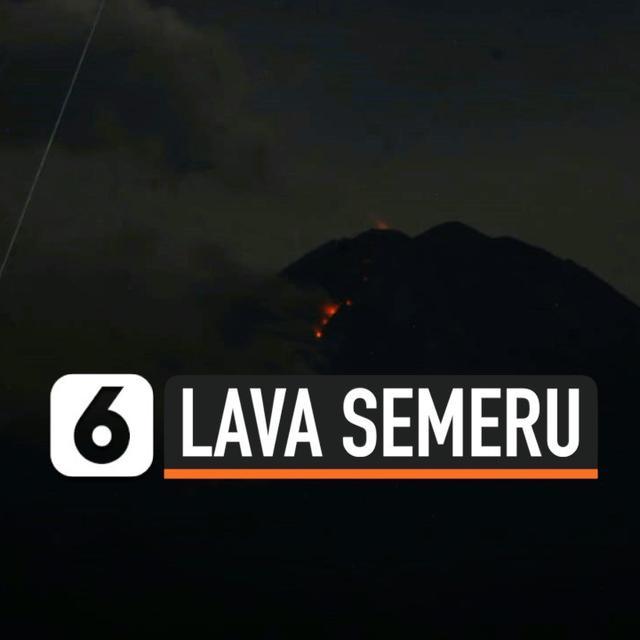 Gunung Semeru Meletus 10 Alat Berat Dan 2 Truk Tertimbun Material Vulkanik Surabaya Liputan6 Com